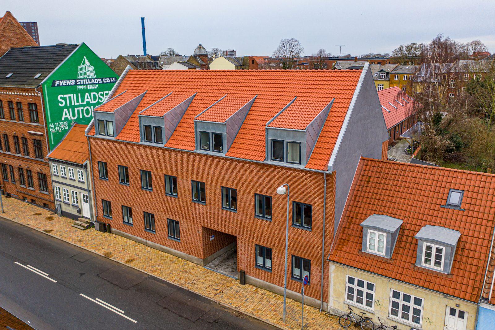 Bygning på Skt. Jørgensgade - Safe-con - 2