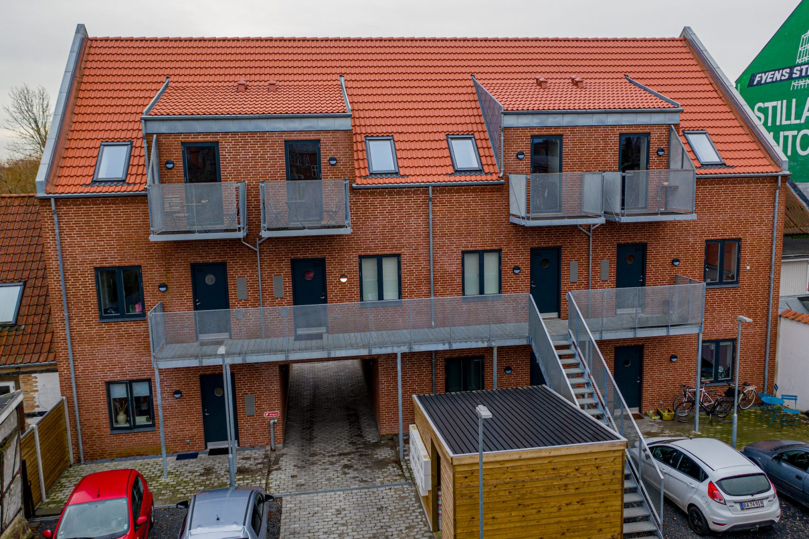 Bygning på Skt. Jørgensgade - Safe-con - 1